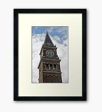 """Clock Tower"" by Carter L. Shepard Framed Print"