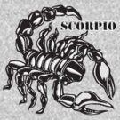 Scorpio T-Shirt by Walter Colvin