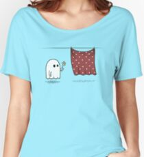 Friendly Ghost Women's Relaxed Fit T-Shirt