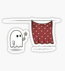 Friendly Ghost Sticker