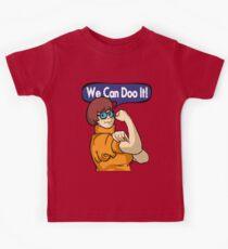We Can Doo It! Kids Tee