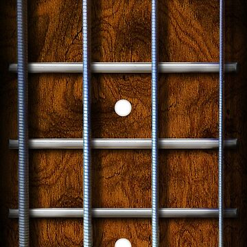 Bass Fingerboard Phone Case by mikedm