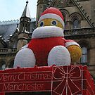 Christmas decoration in Manchester by kirilart