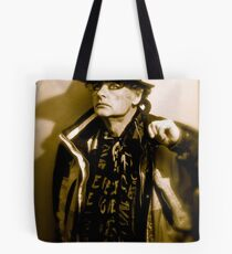 Show must go on. Tribute to Freddie Mercury. Hats off to you ! For Being Featured ! in Hat Heads. Tote Bag