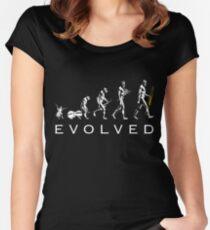 Trombone Evolution Women's Fitted Scoop T-Shirt
