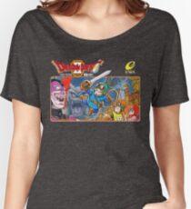 Dragon Quest 2 Nintendo Famicom Box Art Women's Relaxed Fit T-Shirt