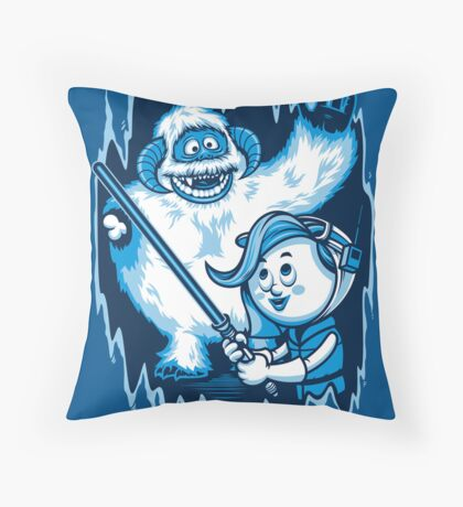 Planet of the Misfit Rebels Throw Pillow
