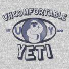 Uncomfortable Yeti Logo by uncmfrtbleyeti