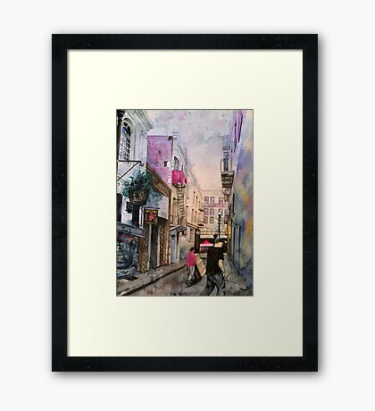 Vesuvio Cafe Framed Print