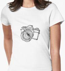 Minolta XG-7 SLR Women's Fitted T-Shirt