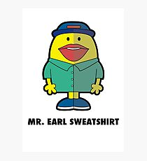 Earl Sweatshirt Photographic Print