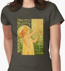 absinthe robette II Womens Fitted T-Shirt