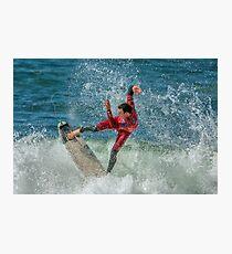 Joel Parkinson - Rip Curl Pro, Bells Beach 2013 Photographic Print