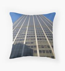 Paris Montparnasse Tower Throw Pillow