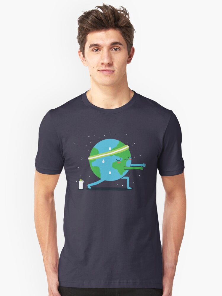 Global warming up Unisex T-Shirt Front