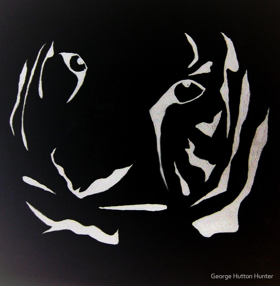 Tiger Portrait by George Hunter