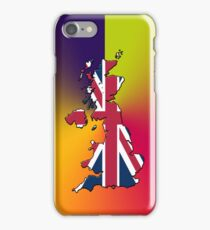 Smartphone Case - Cool Britannia - Yellow Green Red Orange Blue Background iPhone Case/Skin