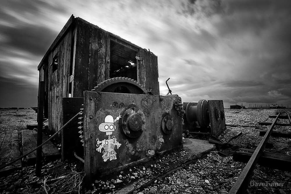 The Winch, Dungeness by DaveTurner