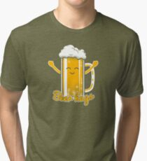 Beer Hugs Tri-blend T-Shirt