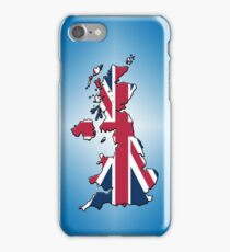 Smartphone Case - Cool Britannia - Blue Diamond Background iPhone Case/Skin