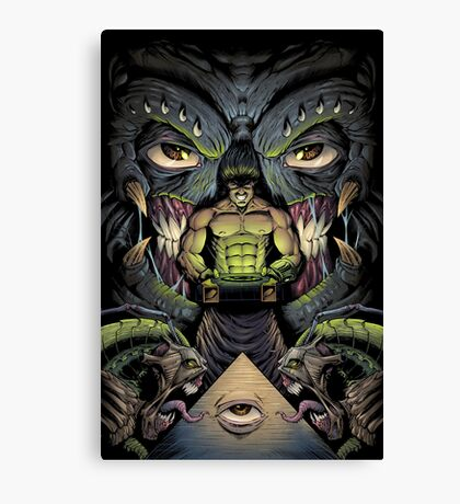 The Courier Canvas Print