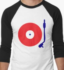 Red White Blue Turntable T-Shirt