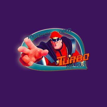 """Wreck-it-Ralph - """"Going Turbo"""" by radruby"""