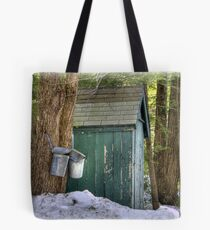 Two Taps and an Outhouse Tote Bag