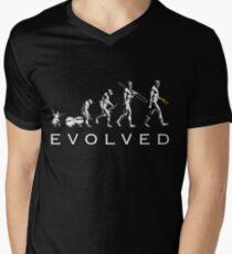 Trumpet Evolution Men's V-Neck T-Shirt