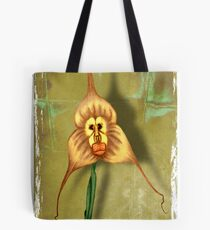 Monkey Face Orchid Tote Bag