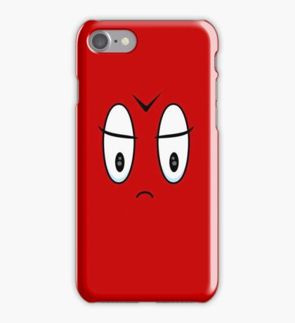 Angry Expression VRS2 iPhone Case/Skin