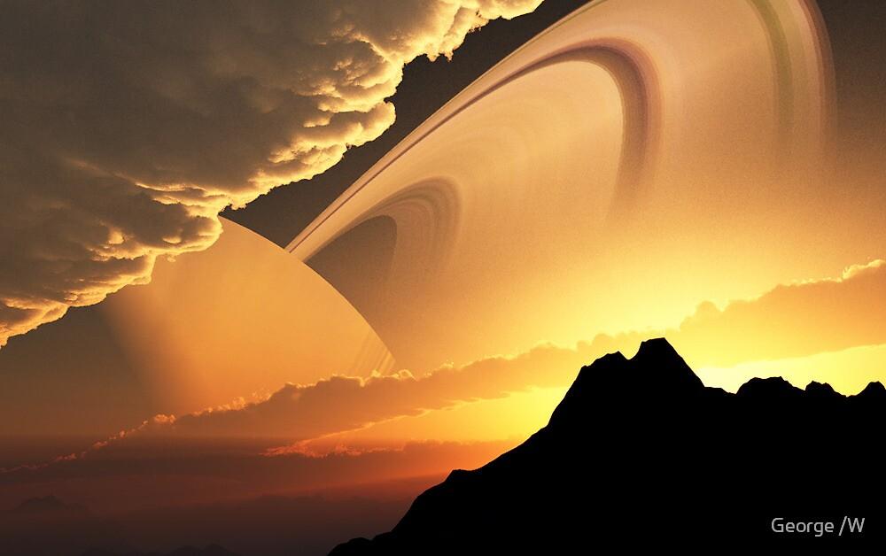 Planetary Dawn by Evender