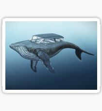 Mercury cruiser of the sea Sticker