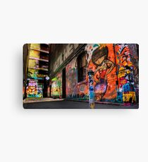 Hosier Lane No 1 Canvas Print