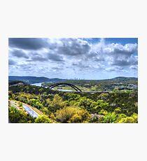 HDR 360 Bridge Photographic Print