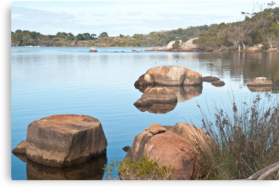 Wilson Inlet Rocks 2013 by pennyswork