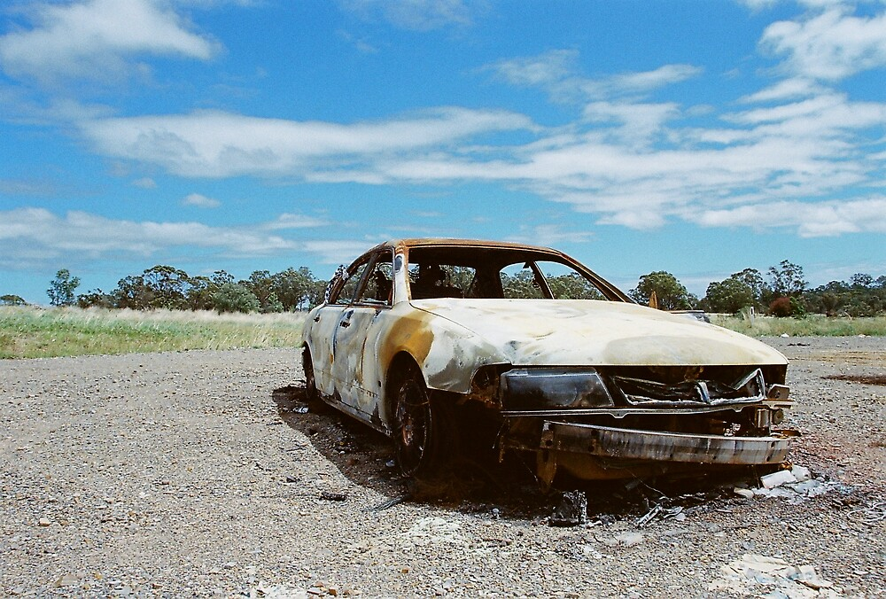 Burn out car 2 by LumLum