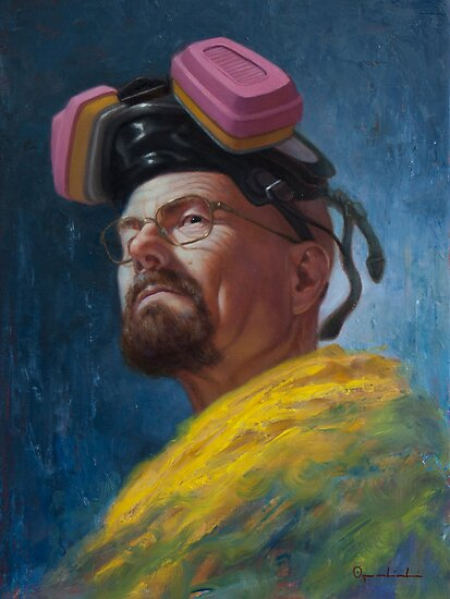 Walter White - Heisenberg by Greg Opalinski