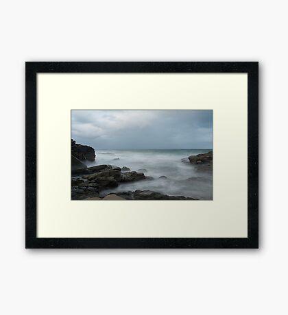 At the beach....  Mooloolaba Framed Print