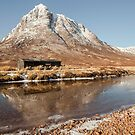 Buachaille Etive Mor Bothy by Brian Kerr
