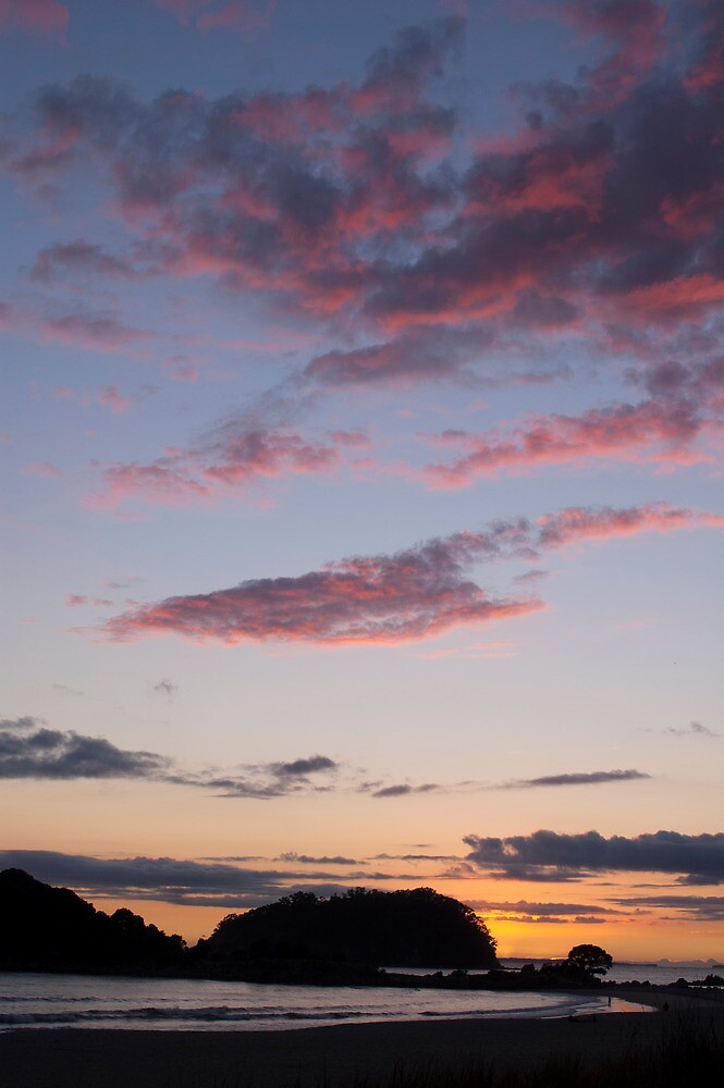 Mount Maunganui dawn by donnz