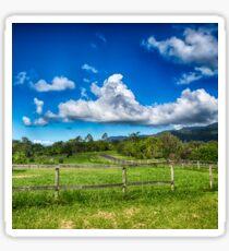 Beautiful Rural View in Queensland Sticker