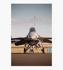 USAF F16 Falcon. Avalon Air Show 2013 Photographic Print
