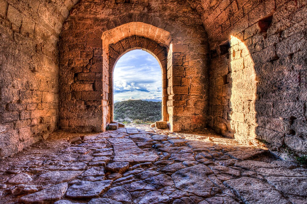 Door Down to Earth by Marc Garrido Clotet
