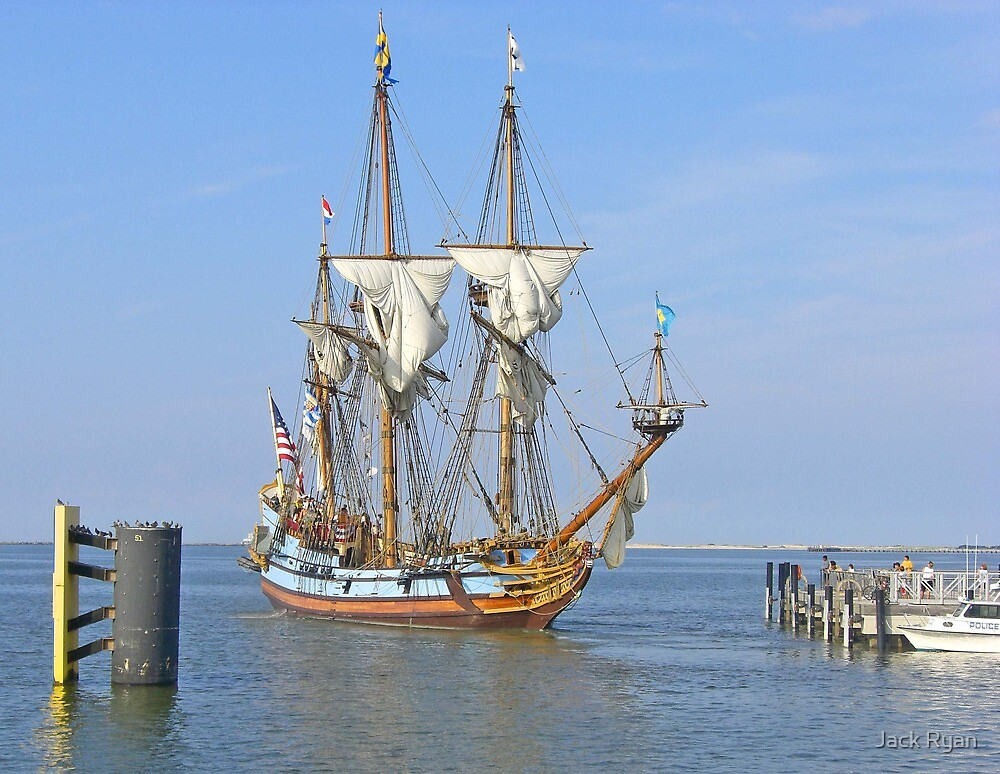 The Kalmar Nykel: Tall Ship of Delaware by Jack Ryan