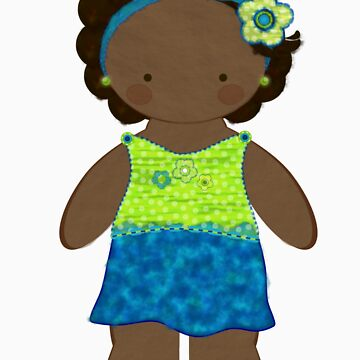 Jasmine Doll Sticker by eppiepeppercorn