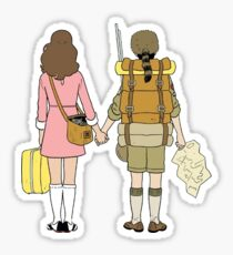 Moonrise Kingdom - Suzy & Sam Sticker