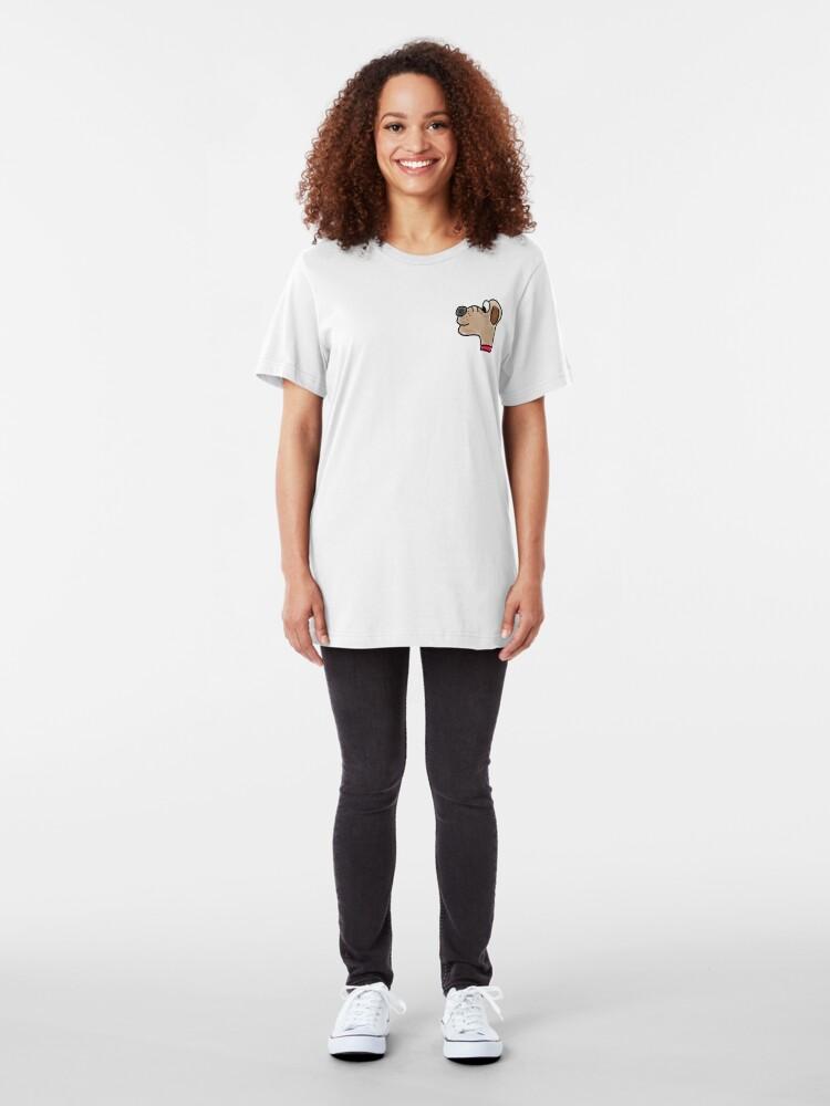 Alternate view of Dog Slim Fit T-Shirt