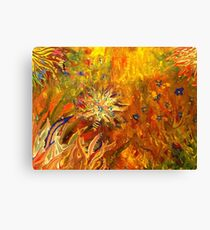 Forest of Exploding Fish Canvas Print