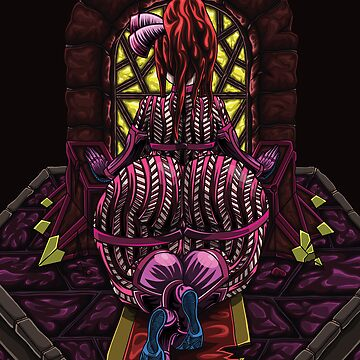 Demonic Altar: Magenta Coloring by djg5286